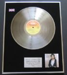 BRUCE SPRINGSTEEN - Darkness On The Edge Of Town PLATINUM LP PRESENTATION DISC